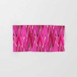 Zigzag Bright Pink Hand & Bath Towel