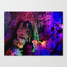 IDYLLIC FAIRYLAND // Reed Flute Cave, Guilin Canvas Print