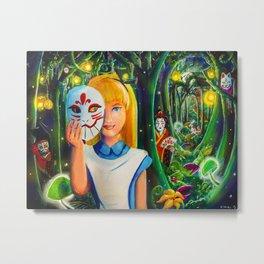 Kabuki Wonderland Metal Print
