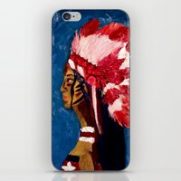 native american iPhone & iPod Skins featuring Native American by Ksuhappy
