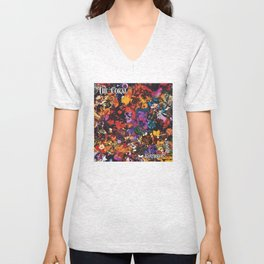 The Coral Butterfly House Unisex V-Neck