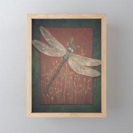 Fleeting Fancy of the Field Framed Mini Art Print