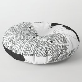 Duel Impession Floor Pillow