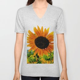 Sunflower Unisex V-Neck