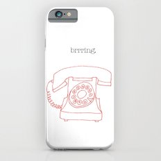 Vintage telephone iPhone 6 Slim Case