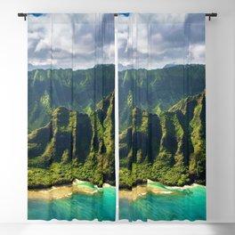 Island of Kauai, Hawaiian Islands Blackout Curtain