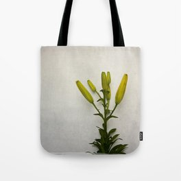 Botanical Lily No. 7733 Tote Bag