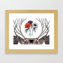 White as Milk, Red as Blood: Brothers Framed Art Print