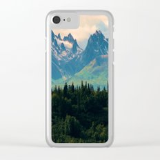 Escaping from woodland heights Clear iPhone Case