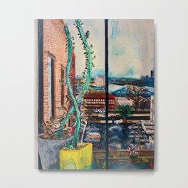 Quarantine Painting, Brooklyn NY Metal Print