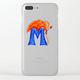 M is for Merida Clear iPhone Case