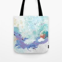snail Tote Bags featuring Snail by ARTION