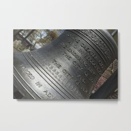 9-11 Memorial Bell Metal Print