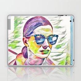 Anne Hathaway (Creative Illustration Art) Laptop & iPad Skin