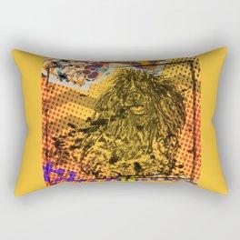 Poodle pop art Rectangular Pillow