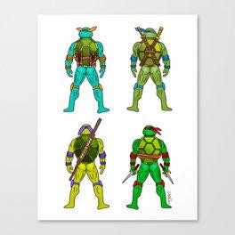 Superhero Butts - Turtles Canvas Print