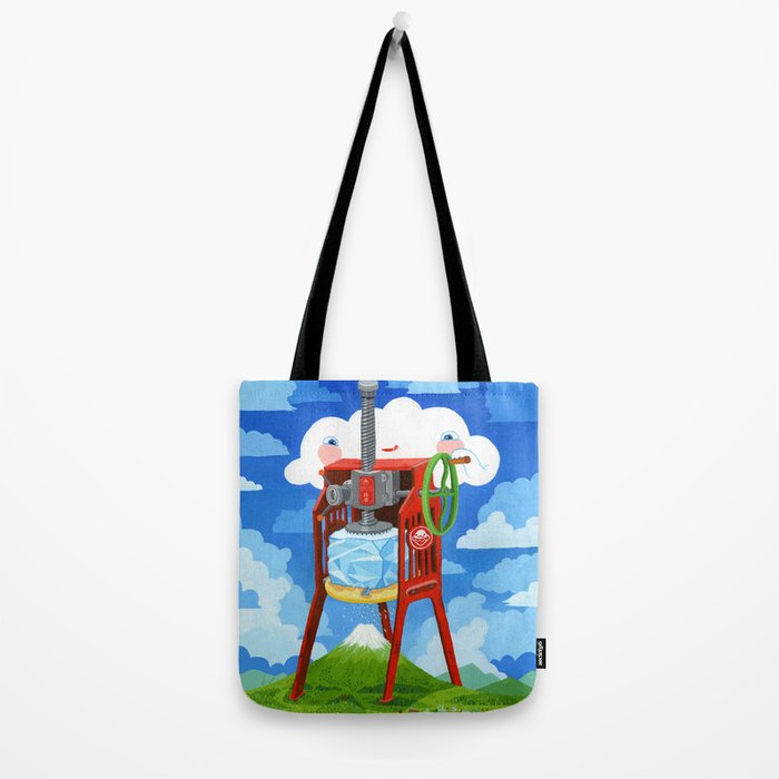 """Shave Ice"" Tote Bag"