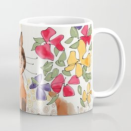 Artist's Cat Coffee Mug
