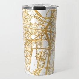 MEDELLÍN COLOMBIA CITY STREET MAP ART Travel Mug