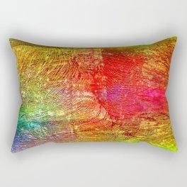 Abstract colors 8888 Rectangular Pillow