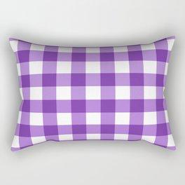 Purple Buffalo Check - more colors Rectangular Pillow