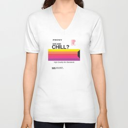 VHS and Chill Unisex V-Neck