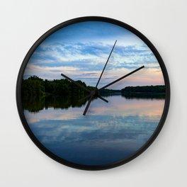 Core Creek Evening Wall Clock