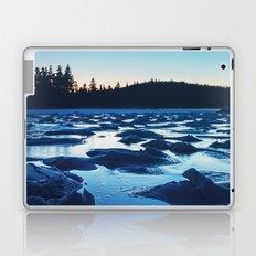 Peaks of Ice in Twilight Laptop & iPad Skin