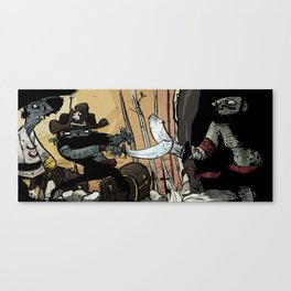 weired collection 04 (harharharrrrr) Canvas Print