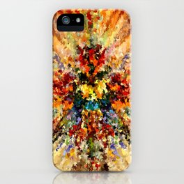 modern composition 10 by rafi talby iPhone Case