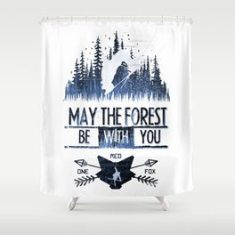 May The Forest Shower Curtain