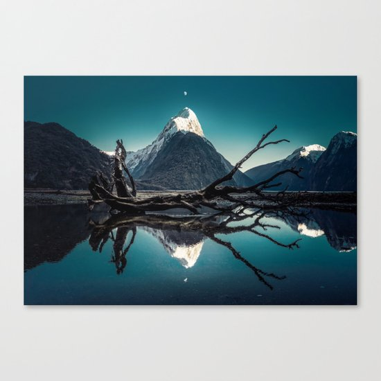 Blue Mountain #landscape Canvas Print
