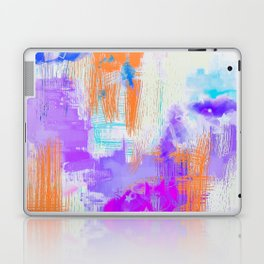 Abstract Painting with Stencil Laptop & iPad Skin