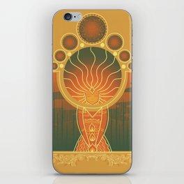 Princess of Flame iPhone Skin