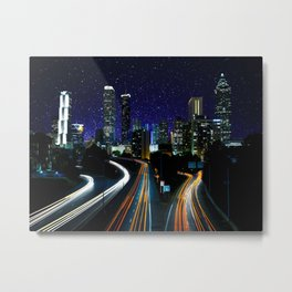 Spacey Atlanta Metal Print