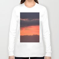 bands Long Sleeve T-shirts featuring Sunrise bands by IowaShots