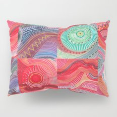 repetitive moments in air Pillow Sham