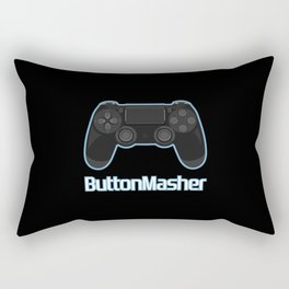 Button masher. Rectangular Pillow