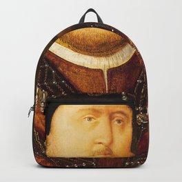 Henry VIII portrait Backpack