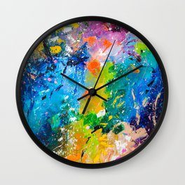 Color of Fall Wall Clock