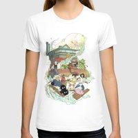chihiro T-shirts featuring Chihiro by Alba Palacio