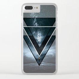 Stars night Clear iPhone Case