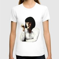 mia wallace T-shirts featuring Mia Wallace by Clotilde Petit