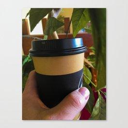 Takeaway Coffee Canvas Print