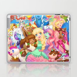 Dollightful Banner Art 2018 Laptop & iPad Skin