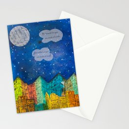 Night Sky Stationery Cards