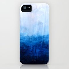 All good things are wild and free - Ocean Ombre Painting Slim Case iPhone (5, 5s)