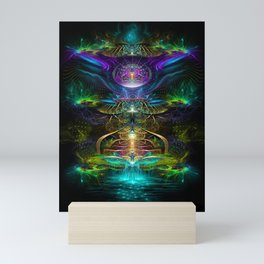 Neons - Fractal - Visionary - Manafold Art Mini Art Print