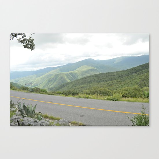 just a sunday morning Canvas Print