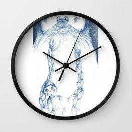 Mangiafuoco Wall Clock